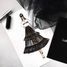Fashion sketches hayden williams posts 19 Ideas for 2019 – Fashion Models Dress Illustration, Fashion Illustration Sketches, Fashion Sketches, Design Illustrations, Drawing Sketches, Fashion Design Inspiration, Mode Inspiration, Fashion Sketchbook, Arte Fashion