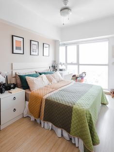 A Look Inside the Charming Home of a Real Living Reader Condo Interior Design, Condo Design, House Design, House Tours, Bed, Table, Furniture, Home Decor, Decoration Home