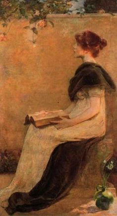 Rose, by Edith Mitchell Prellwitz (American, 1864-1944)