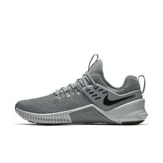e7cc8cb8ec4 Nike Free x Metcon Cross Training Weightlifting Shoe Size 8 (Cool Grey)