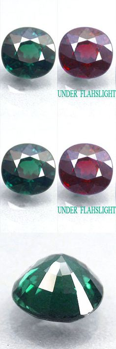 Diaspore 164392: 1.23Cts Charming Grade Gem! Natural Amazing Color Change Chrome Tourmaline Lu81 -> BUY IT NOW ONLY: $169.96 on eBay!