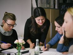 Kalligrafie & Lettering Workshop mit Ana Luiza. Foto @stefaniekapraphoto