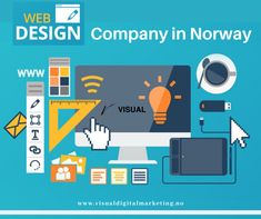 Looking for a top-rated Website Design Company in Norway? So Visual Digital Marketing is all here, which custom a website according to you. We refer to the design of websites that are displayed on the internet. For our services, visit us online or you can contact us on 47-92483090. Website Design Company, Top Rated, Norway, Digital Marketing, Internet, Display, Weaving, Floor Space, Billboard