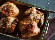 Crispy honey roasted chicken