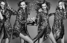 Karlie Kloss by Kai Z Feng for Elle UK March 2016 Karlie Kloss, Party Fashion, New Fashion, Fashion Models, Spring Fashion, Luxury Fashion, Fashion Trends, Img Models, Kai