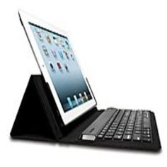 Kensington KeyFolio K39531US Multi Angle Folio and Bluetooth Keyboard Case for iPad - Black