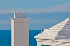 White roofs under blue skies... Peace of Mind from Bermuda :)