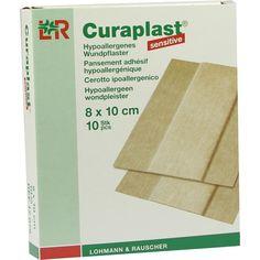 CURAPLAST Wundschnellverb.sensitiv 8x10 cm 1 m:   Packungsinhalt: 10 St Pflaster PZN: 06980117 Hersteller: Lohmann & Rauscher GmbH &…