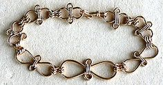 Flemish Spiral Jewelry Wire Bracelet made using WigJig jewelry tools and common jewelry supplies.