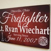 Firefighter Decor ideas and photos for those warrior Fighting with fire everyday to keep us safe.  #firefighter #chiefmiller #fireservice #firetruck #firefighterlife #firedepartment #firefighterheros #firefighters #firefighterslife #firefighterfamily #firefighterclot #firefighterposts Firefighter Family, Firefighter Decor, Fire Department, Fire Trucks, Fire Dept, Fire Engine, Firetruck, Fire Apparatus