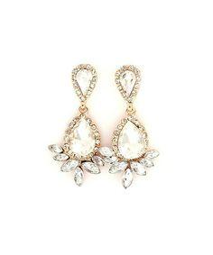 Crystal Fleur Earrings