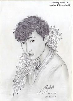 Khmer draw.khmer boy. Facebook/Secretcha JA IG.secret.cha