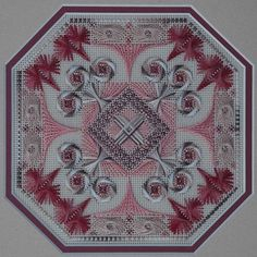 Arabesque Rose by West End Embroidery
