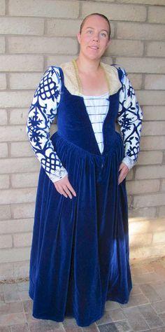 The Italian Renaissance Costuming Challenge - Kim Butler