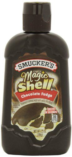 Smuckers Magic Shell for Edible Earth Layers (affiliate link) Chocolate Filling, Chocolate Fudge, Chocolate Flavors, Chocolate Chips, Ice Cream Toppings, Ice Cream Flavors, Fudge Flavors, Earth Layers, Skinny Cow