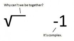 math humor about #complex #number