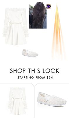 """Light"" by emmajude ❤ liked on Polyvore featuring TOMS and 10"
