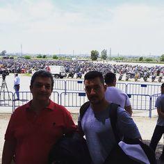 """049. #RetoJerez.    Julián Rodríguez Marín: """"En el aparcamiento del Circuito con mi padre""""    Enviada a Facebook (@JerezEsCapitalMundialdelMotociclismo)    #JerezesMotor    #JerezesMotor"""