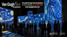 Oltre 3.000 immagini raffiguranti i quadri di Van Gogh verranno proiettate a pieno schermo grazie a 50 proiettori ad alta definizione. Una grafica multi canale e un suono surround contribuiranno a creare uno dei più coinvolgenti ambienti multi-screen al mondo