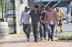 'Iddarammayilatho' Movie Working Stills ft. Allu Arjun, Amala Paul, Catherine Tresa