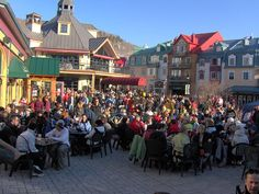 Mont Tremblant, Canada. Great little ski resort.