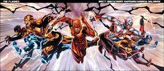 Future New 52 kid flash vs blue flash에 대한 이미지 결과