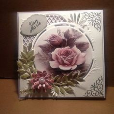 3d Cards, Marianne Design, Annie, Birthday Cards, Diy And Crafts, Creativity, Card Making, Images, Joy