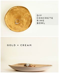 Ring Bowl   22 Seriously Cool Cement Projects You Can Make At Home