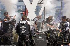 Emirates Team NZ win Louis Vuitton Cup