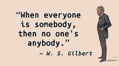W.S. Gilbert - Somebody