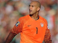 Tim Howard. Why yes, yes I will watch the U.S. men's national team...