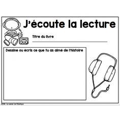 Affiche et fiches: ateliers de litttératie