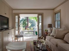 A cottage remodel in Mill Valley, California. Casually elegant with open plan living, a kitchen...