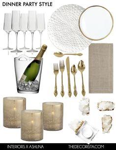 Dinner party vibes — The Decorista