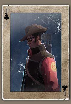 TF2 Poker sniper by biggreenpepper on DeviantArt
