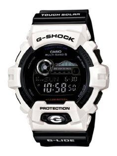 Casio Mens GWX8900B-7 G-Shock Tough Solar Multi-Band Atomic Watch