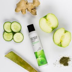 Agua Micelar Fresh Green Fresh Green, Healthy Skin, Packaging, Nature, Facial Toner, Micellar Water, Sensitive Skin, Make Up, Naturaleza