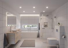 Bathroom Shelf Decor, Rustic Bathroom Shelves, Bathroom Layout, Bathroom Styling, Bathroom Interior, Modern Bathroom, Beach Theme Bathroom, Small Bathroom, Norwegian House