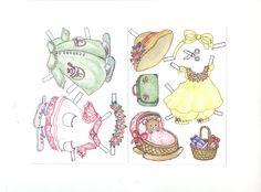 Bonecas de Papel: ratinha