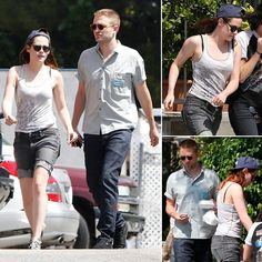 Exclusive: Rob and Kristen Share a Sweet Sushi Date