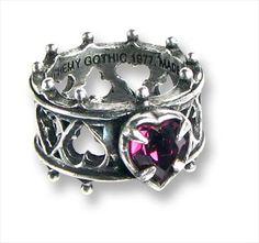 Alchemy Gothic Jewelry | -gothic-ring-elizabethan-purple-heart-pewter-ring-by-alchemy-gothic ...