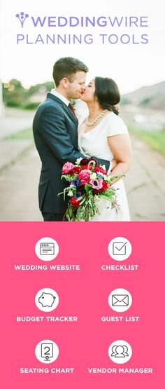 Sign up to start using WeddingWire's free planning tools!