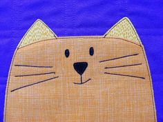 How to Applique with Fusible Adhesive - instructions from Shiny Happy World