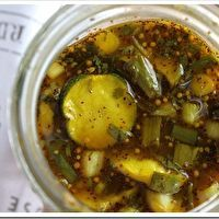 Sweet Cilantro and Onion Pickles by Doughmesstic