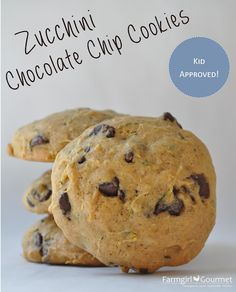 Farmgirl Gourmet: Delicious Recipes for the Home Cook.: Zucchini Chocolate Chip Cookies