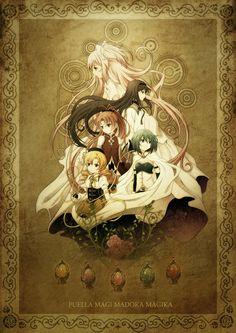 Puella Magi Madoka Magika (http://www.pixiv.net/member_illust.php?mode=medium&illust_id=39163283) #anime #illustration