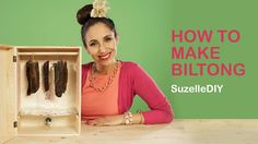 This recipe for making your own homemade biltong is perfect for all those South Africans who emigrated… ag shame! Suzelle's Biltong Recipe : DISCLAIMER : Be careful not to install your lightbulb too close to the bottom of your box. South African Recipes, Africa Recipes, Bisquick Recipes, How To Make Sausage, Sausage Making, Biltong, Types Of Meat, Elevator Music, Homemade Crafts