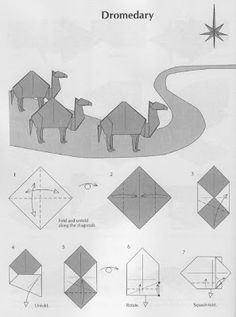 Origami Camel - PAPIROFLEXIA PARA TOD@S: DROMEDARIO