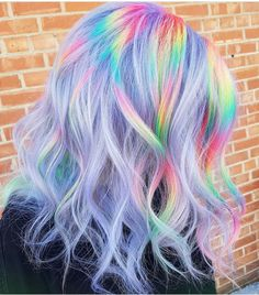 Hair Color 2018 Want to try ombre hair but not sure what look? We have put together a list of t Hair Color 2018 Want to try ombre hair but not sure what look? We have put together a list of t Vibrant Hair Colors, Hair Dye Colors, Ombre Hair Color, Cool Hair Color, Colorful Hair, Unicorn Hair Color, Bright Hair, Colours, Pastel Colors