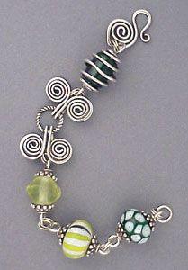 summer fun wire bracelet